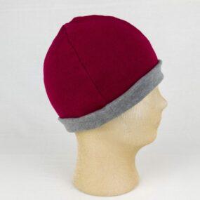 CUFFIOSA bordò: doppio strato lana e cotone sulla pelle NivesCoseBelle