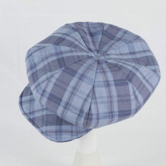 Berretto scozzese NEWSBOY, blu NivesCoseBelle
