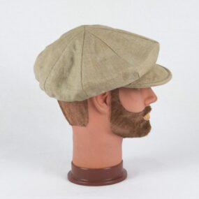 Cappello con visiera NEWSBOY, Berretto Sartoriale in Puro Lino NivesCoseBelle
