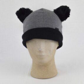 Cuffia con orecchie: la cuffia con orecchie da orsetto NivesCoseBelle