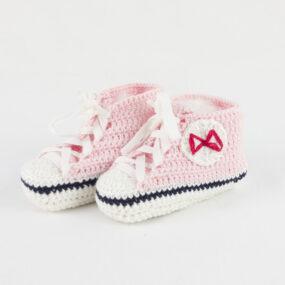 Scarpette bebè rosa BABY STAR rosa NivesCoseBelle