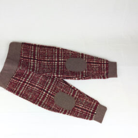 Pantaloni Sartoriali bambino PantaBaggy bordò